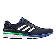Mens adidas Adizero Boston 7 Running Shoe - Legend Ink/Lime 8.5