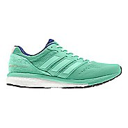 Womens adidas Adizero Boston 7 Running Shoe - Aqua 7.5