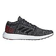 Mens adidas PureBoost GO Running Shoe - Black/Scarlet 12