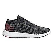 Womens adidas PureBoost GO Running Shoe - Carbon/Maroon 10