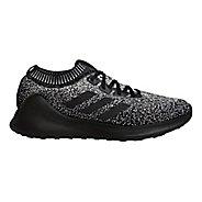 Mens adidas PureBounce+ Running Shoe - Black/White 10