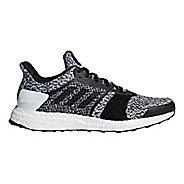 Mens adidas Ultra Boost ST Running Shoe - Black/White 11.5