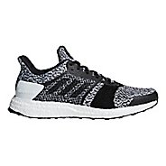 Mens adidas Ultra Boost ST Running Shoe - Black/White 12.5