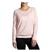 Womens Brooks Array Long Sleeve Technical Tops