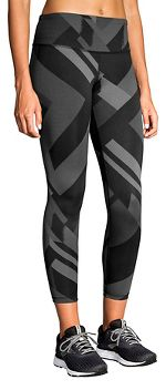 Womens Brooks Formation Crop Tights & Leggings