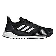 Mens adidas Solar Glide ST Running Shoe - Black/White 8.5