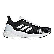 Womens adidas Solar Glide ST Running Shoe - Black/White 9