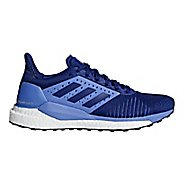 Womens adidas Solar Glide ST Running Shoe - Lilac/Mystery Ink 9.5