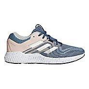 Womens adidas AeroBounce ST 2 Running Shoe - Grey/Clear Orange 10.5
