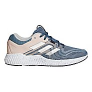 Womens adidas AeroBounce ST 2 Running Shoe - Grey/Clear Orange 9.5