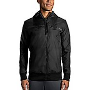 Mens Brooks Sideline Casual Jackets - Black L