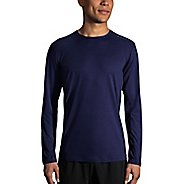 Mens Brooks Ghost Long Sleeve Technical Tops