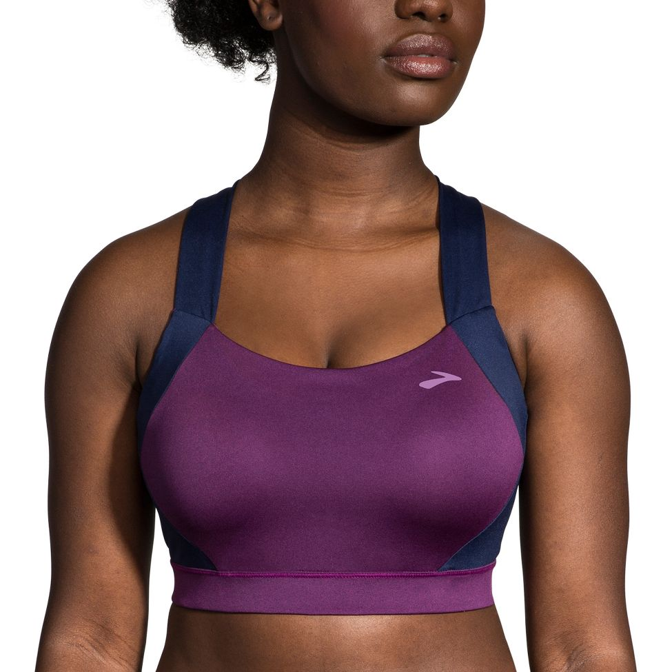 b814dc05a6 Womens Brooks Uphold Crossback Sports Bra at Road Runner Sports