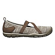 Womens Keen Hush Knit MJ Casual Shoe - Brindle 8