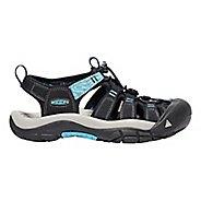 Womens Keen Newport Hydro Sandals Shoe - Black Blue 9