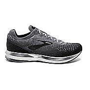 Mens Brooks Levitate 2 Running Shoe - Black/Grey 11.5