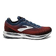 Mens Brooks Levitate 2 Running Shoe - Chili/Navy 7.5