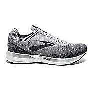 Womens Brooks Levitate 2 Running Shoe - Grey/White 10