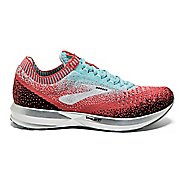 Womens Brooks Levitate 2 Running Shoe - Coral/Blue 10.5