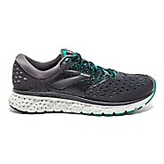 Womens Brooks Glycerin 16 Running Shoe - Grey/Teal 6.5