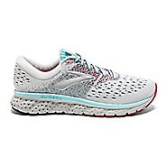Womens Brooks Glycerin 16 Running Shoe - White/Blue 7.5
