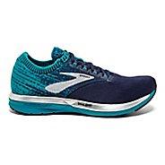 Womens Brooks Ricochet Running Shoe - Black/Pink 5