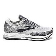 Mens Brooks Bedlam Running Shoe - Grey/White/Ebony 10
