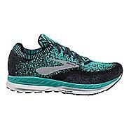Womens Brooks Bedlam Running Shoe - Teal/Black 11
