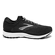 Mens Brooks Revel 2 Running Shoe - Black/Grey/Grey 12