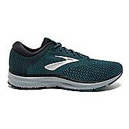Mens Brooks Revel 2 Running Shoe - Black/Blue 10