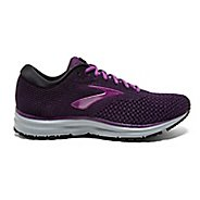 Womens Brooks Revel 2 Running Shoe - Black/Purple/Grey 5.5