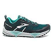Womens Brooks Cascadia 13 Trail Running Shoe - Teal/Aqua 6.5
