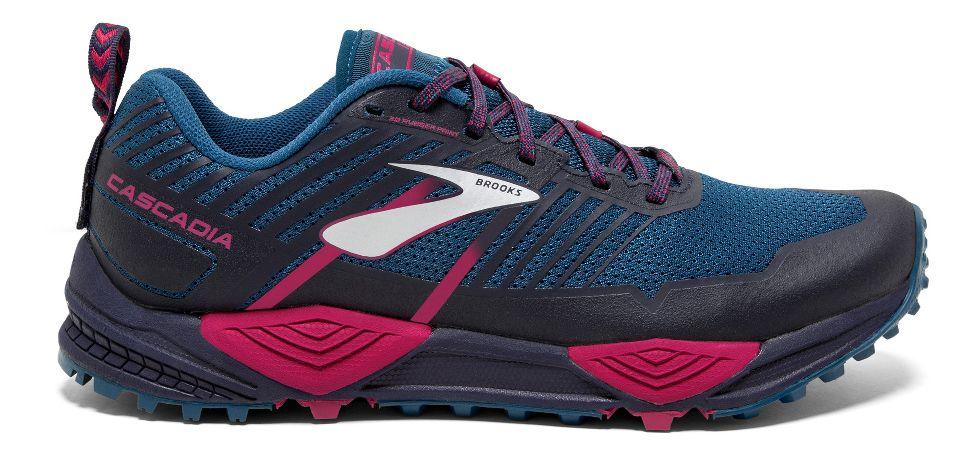 8cbcb78a83b Womens Brooks Cascadia 13 Trail Running Shoe at Road Runner Sports