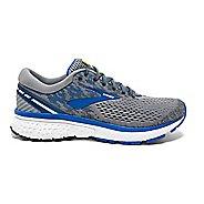 Mens Brooks Ghost 11 Running Shoe - Grey/Blue 9.5