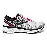 Womens Brooks Ghost 11 Running Shoe - White/Pink 8.5