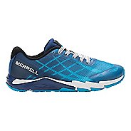 Boys Merrell Bare Access Trail Running Shoe - Blue 1Y