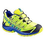 Kids Salomon XA PRO 3D CSWP Trail Running Shoe - Acid Lime 11C