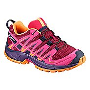 Kids Salomon XA PRO 3D Trail Running Shoe - Acai 1.5Y