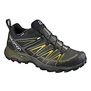 Mens Salomon  X ULTRA 3 GTX Hiking Shoe - Grey Green 12.5