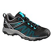 Mens Salomon X Ultra Mehari Hiking Shoe - Black Blue 8
