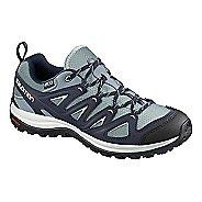Womens Salomon Ellipse 3 CS WP USA Hiking Shoe - Night Sky 5