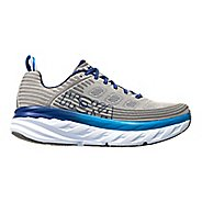 Mens Hoka One One Bondi 6 Running Shoe - Blue/Grey 13