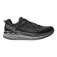 Mens Hoka One One Clifton 5 Running Shoe - Anthracite 8