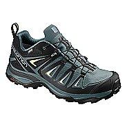 Womens Salomon X Ultra 3 GTX Hiking Shoe - Magnet Shark 9.5