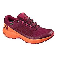 Womens Salomon XA Elevate GTX Trail Running Shoe - Beet Red/Coral 5