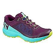 Womens Salomon XA Elevate Trail Running Shoe - Purple Blue 8