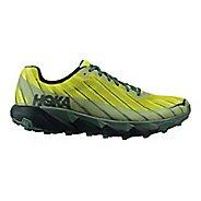 Mens Hoka One One Torrent Trail Running Shoe - Green/Grey 11