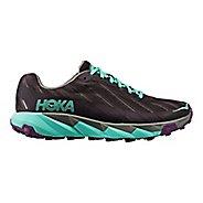 Womens Hoka One One Torrent Trail Running Shoe - Grey/Blue 6.5