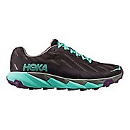 Womens Hoka One One Torrent Trail Running Shoe - Grey/Blue 9.5