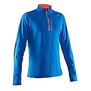 Mens Salming Half-Zips & Hoodies Technical Tops - Electric Blue L